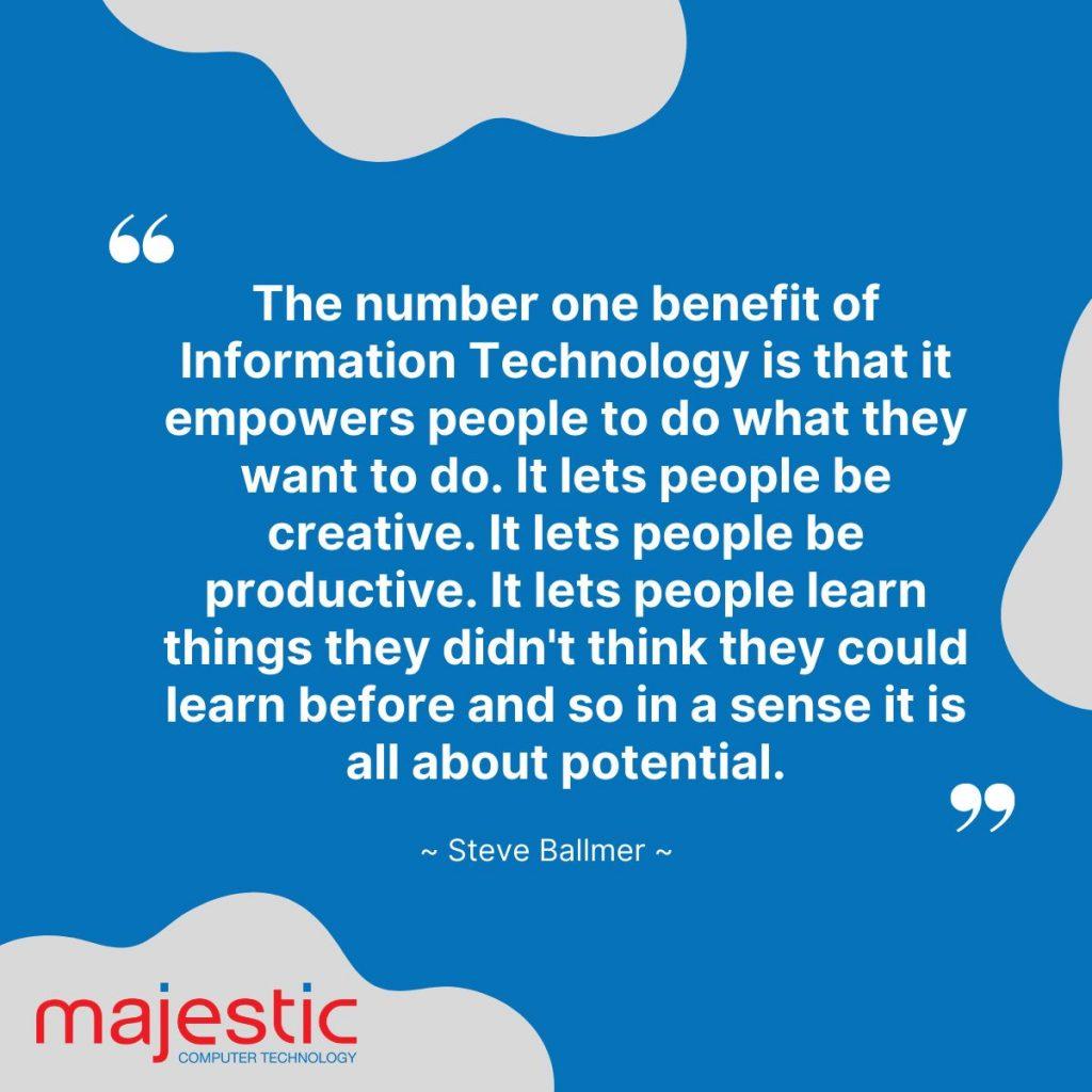 Steve Ballmer's saying