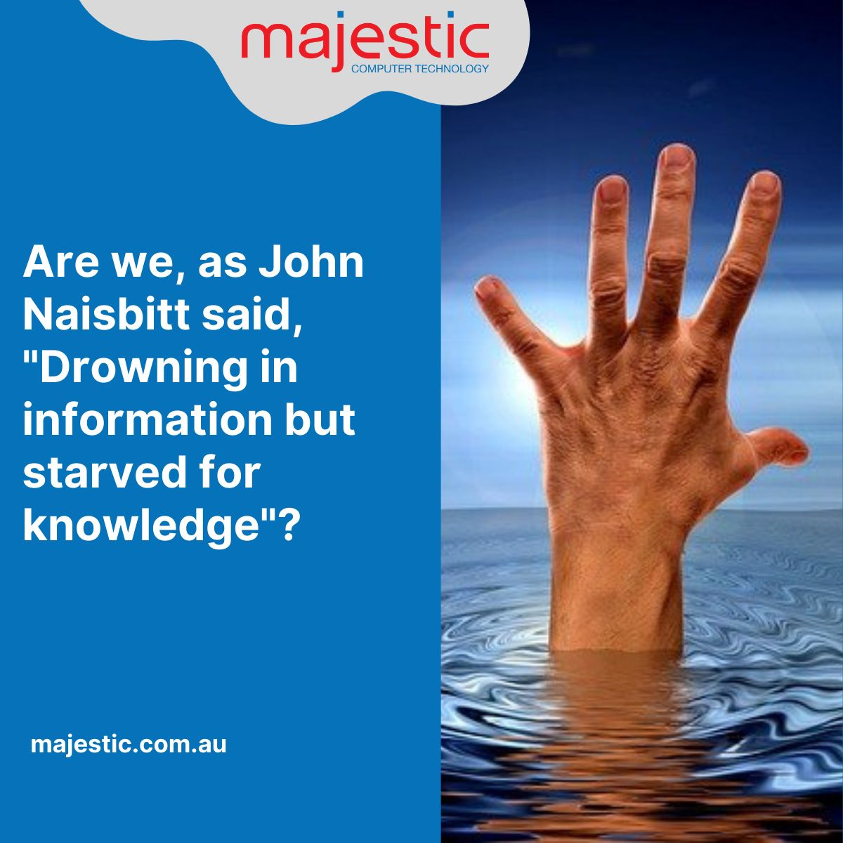 Jhon Naisbit's quote